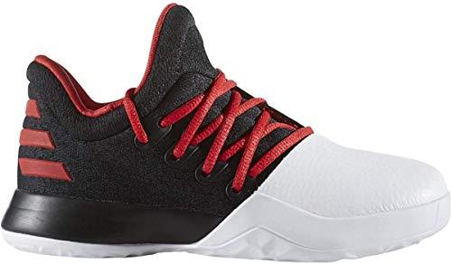 adidas Harden Vol.1 C? Shoe - Black/Scarlet/White - Boys - 12