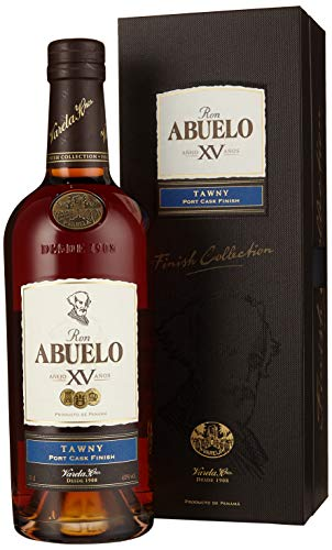 Abuelo Ron Añejo XV TAWNY Port Cask Finish Rum (1 x 0.7 l)