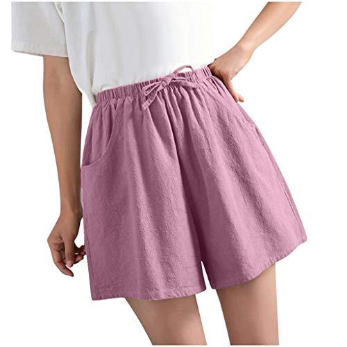 Buyaole,Pantalones Cortos Unisex,Pantalones De Yoga para Mujer,Pantalones Mujer Tallas Grandes,Leggins Embarazada Mujer,Vaqueros...