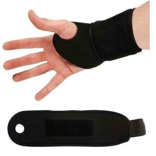 Armband voor heren van neopreen met klittenbandsluiting, 9 1329 T-MAXTER zwart, eenheidsmaat