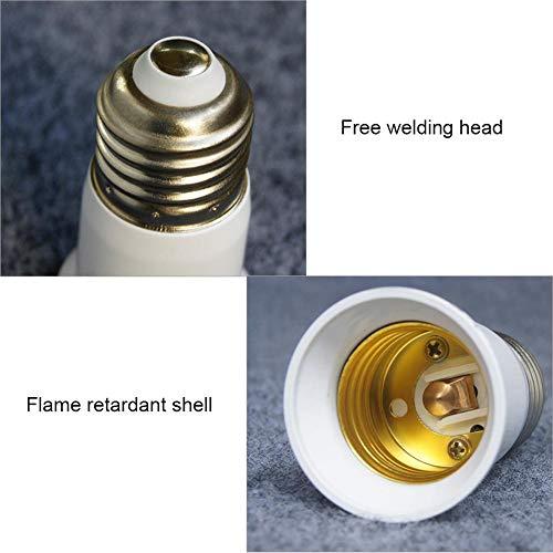 Comaie e14 in e27 umwandlung lampenfassung e27 in e14 umwandler Home sockel conversio Adapter kit glühlampensockel Splitter Schraube spiralschnittstelle hitzebeständiger brennschutzschalter e14-e27