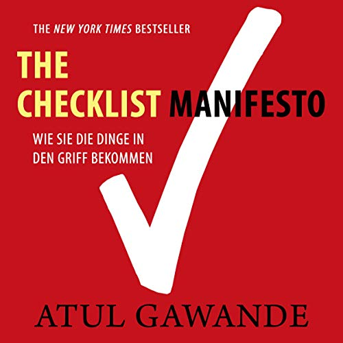 Checklist Manifesto cover art