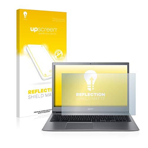 upscreen Entspiegelungs-Schutzfolie kompatibel mit Acer Chromebook 715 – Anti-Reflex Bildschirmschutz-Folie Matt