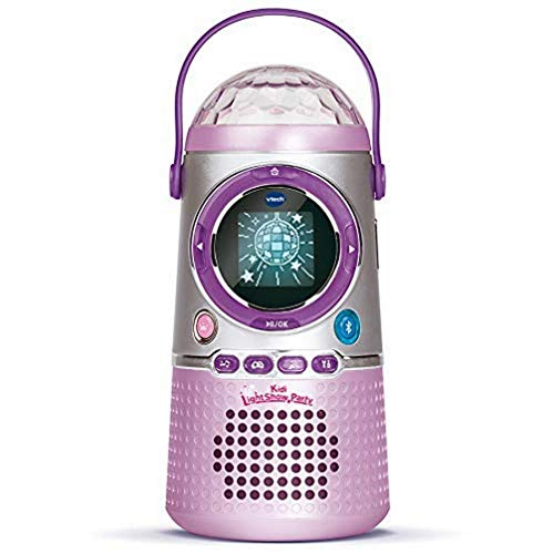 Vtech 163905 Kidi LightShow Party Elektronisches Musik-Spielzeug, Rosa, Norme
