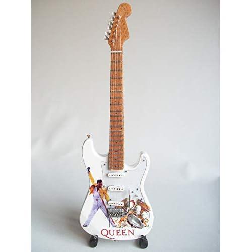 Mini chitarra da collezione replica artisti anni ottanta