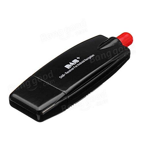 YALIXING Electrónica de vehículos USB 2.0 Digital Dab Radio Tunner Stick para...