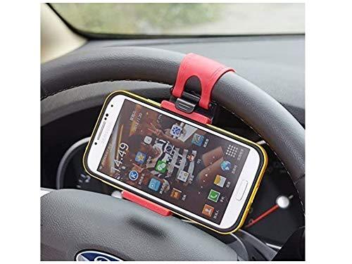 Liseng Soporte para volante de coche para MP4 Smart Phone GPS