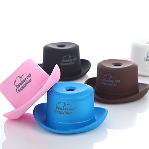 ebdcom Mini vaquero Cap humidificador USB portátil Humidificador Air Diffuser Mist Maker casa, azul