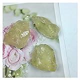 YSJJDRT Cristallo Naturale Grezzo Topazio Naturale Cristallo Grezzo Raw Pietra Roccia Esempio Brasile (Größe : 30-40g)