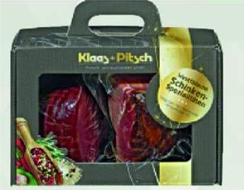 Klaas+Pitsch Westfälische Schinkenspezialitäten als Geschenkset 800g im Koffer