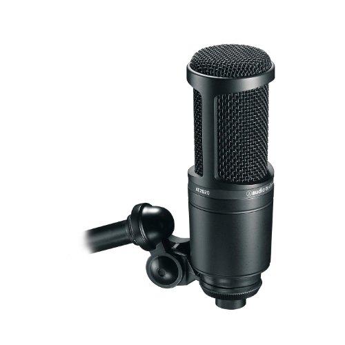 audio technica AT2020 - Microfono a condensatore elettrico