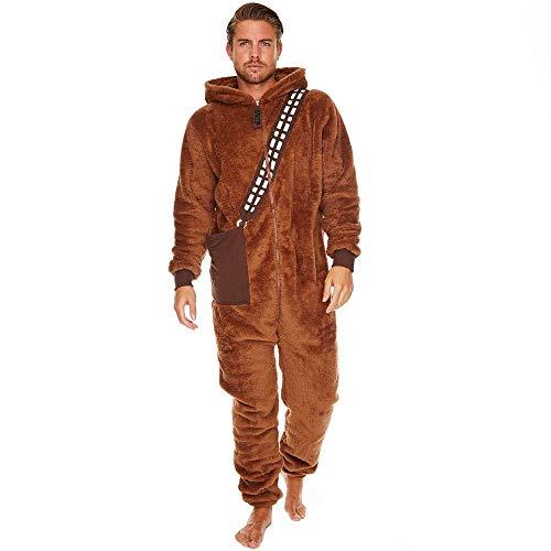 Star Wars Chewbacca Herren Einteiler, Einheitsgröße, Braun