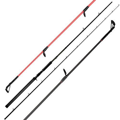 KastKing Krome Salmon and Steelhead Fishing Rods, Casting Pro Troller - 12ft - Heavy-2pcs