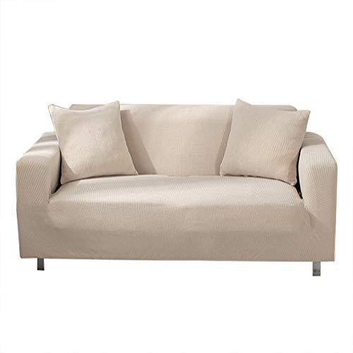 Funda elástica para sofá o sofá de Suave Forro Polar, Antideslizante, Funda de sofá, Funda Protectora de sofá, Funda para sofá o casa