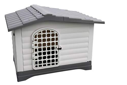 AVANTI TRENDSTORE Deluxe - Cuccia per Cani in plastica per Uso Esterno e Interno. Dimensioni: 111x80,4x83,8cm