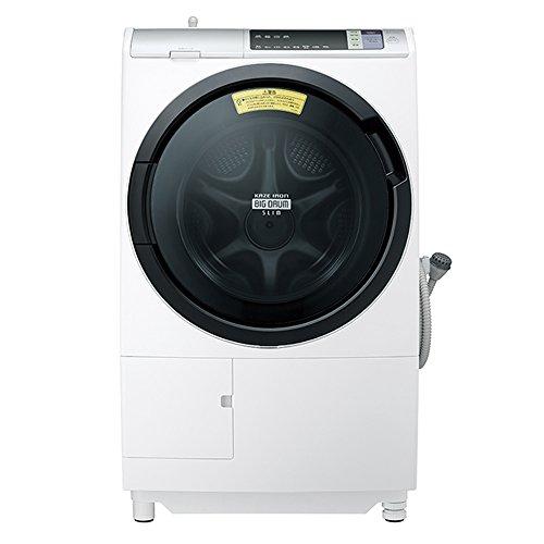 日立 ドラム式洗濯乾燥機 ビッグドラム 左開き 11kg ホワイト BD-SV110AL W