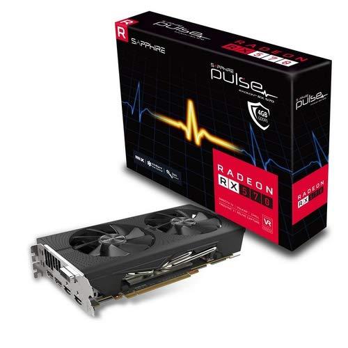 Sapphire 11266-67-20G Radeon RX 570 Grafikkarte, 4GB, GDDR5, 256Bit, 3840x2160Pixel, PCIExpressx163.0