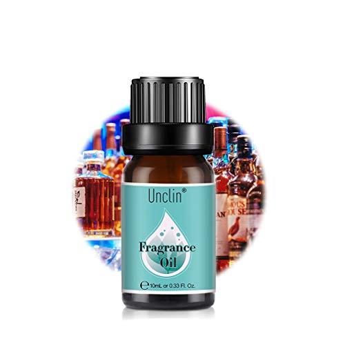 Unclin Aceites de Frangancia, Aceites Esenciales para Humidificador, Aromaterapia para Hogar, Oficina 10ml - Piña colada