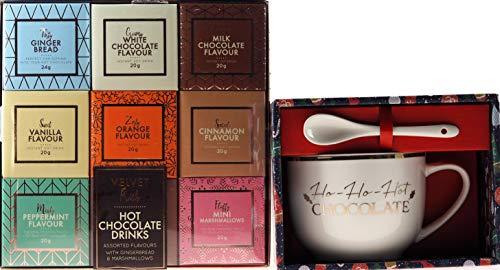 BWG Geschenk-Set aus Keramik mit Löffel und Schokoladenduft