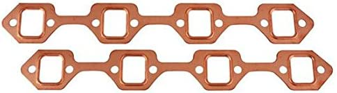 Speedway Louisville-Jefferson County Mall Motors Genuine Copper Exhaust Gaskets Block Small Ford Fits
