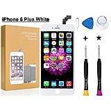 Oli & Ode iPhone 6 Plus 修理パーツ フロントパネル 3D 液晶パネルタッチスクリーン修理交換用 A1634,A1687,A1699 (修理工具付属)