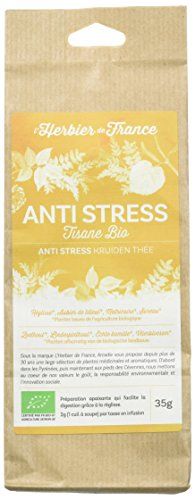 L'Herbier de France Mélange Anti-Stress Hamac Bio Sachet Kraft 35 g