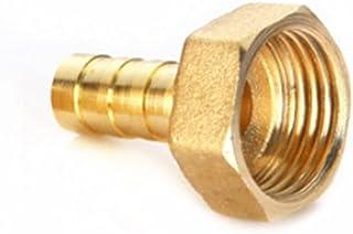 Tuanie Lnanqing-slangverbinder, messing 6 mm, 8 mm, 10 mm, 12 mm, 14 mm, 16 mm, 19 mm, 25 mm, messing slang, Barb 1/2 inc...