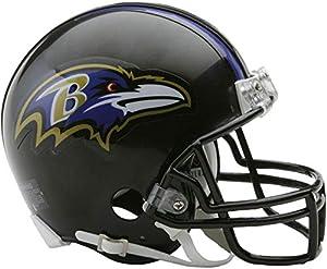 Riddell Baltimore Ravens VSR4 Mini Football Helmet - NFL Mini Helmets