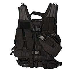 top 10 airsoft vest kids Best Nc Star for Kids, Black, Small