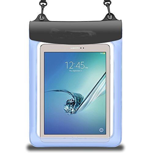 """9.7 - 11 Inch Tablet Waterproof Case Dry Bag Pouch for 10.5 / 11 / 12.9 inch iPad Pro, iPad Air 10.5, iPad 9.7, Samsung Galaxy Tab A 10.5"""", Galaxy Tab S2/S3 9.7""""Dragon Touch, ASUS, Acer, Kindle fire"""