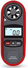 YOSIYO Hand Held Anemometers, Wind Speed Anemometer Handheld Wind Speed Meter Portable, Digital Anemometer Waterproof IP67, Temperature Wind Speed Gauge Meter with LCD Display Backlight
