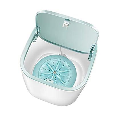TTFLY Mini Desktop Washing Machine, Portable Quiet for Underwear Socks Panty Home Travel
