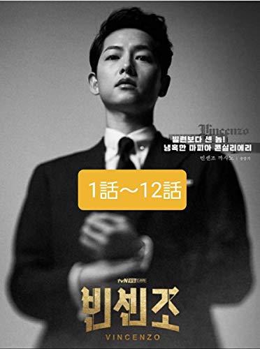 韓国ドラマ DVD版 ヴィンチェンツォ(1話~12話)レーベル印刷、日本語字幕付き