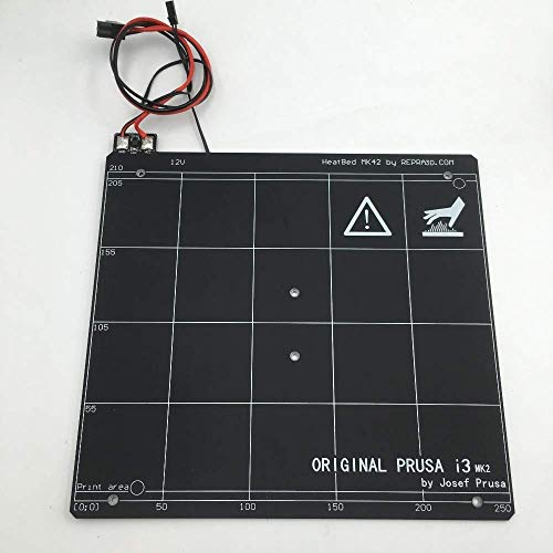 For Prusa i3 mk2/mk2s 3d printer PCB heated bed cloned, 3mm thickness, PEI building tape 3D Printer Parts