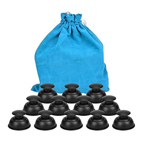 Tazas De Catación Celulitis Succion Masaje Cuerpo - Succión Kit De Ventosas Corporales Masaje Relajación Muscular Cara Acupuntura, Ventosas Chinas Para Fisioterapia Plastico Silicona