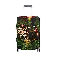 繊細な印刷でお祝いデコレーションスーツケースプロテクター弾性旅行荷物カバー防雨手荷物カバー