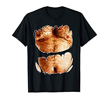 Bachleor Party Fake Hairy Chest For The Best Bachelor Party T-Shirt