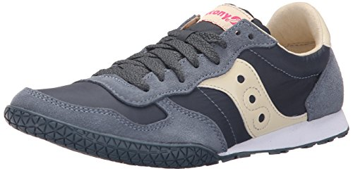 Saucony Originals womens Bullet Sneaker, Slate, 8 M US