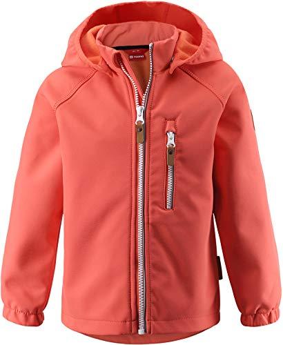 Reima Vantti Softshell Jacke Kinder Coral pink Kindergröße 116 2020 Funktionsjacke