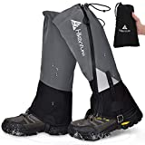Hikenture Leg Gaiters with Waterproof Zipper, Anti-Tear...