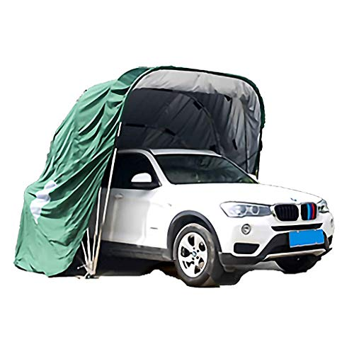 YDS SHOP Mobile Garage Autoabdeckung, Allwetterfest Medium Carpor Tragbar Faltbar Outdoor Heavy Duty Stahlrahmen Carport Langlebiger Unterstand (250X600cm),C