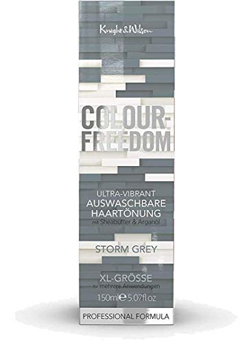 Colour-Freedom Ultra-Vibrant Storm Grey XL 150 ml auswaschbare Haartönung …