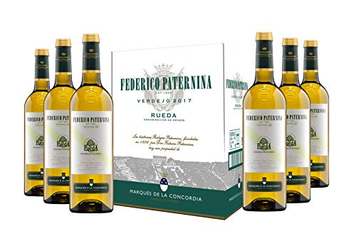 Paternina Verdejo D.O. Rueda Vino blanco - 6 botellas x 750 ml - 4500 ml