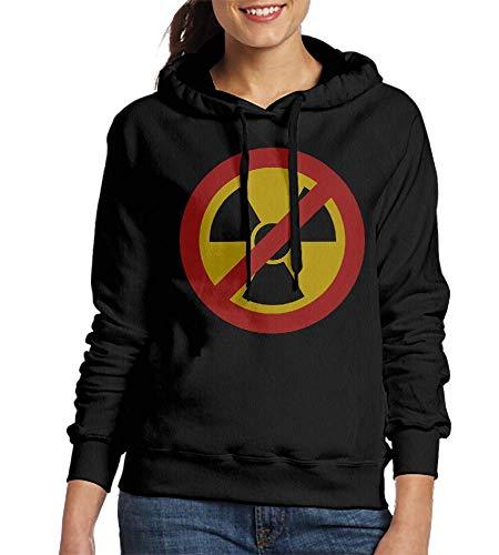 Laura Longman Sweatshirts for Women No Nuclear Power Womens Hoodies