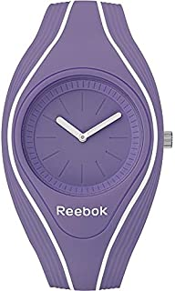 Reebok Women's Purple Dial Silicone Band Watch Rf-Rse-L1-Pviv-Vw, Analog Display, Quartz Movement