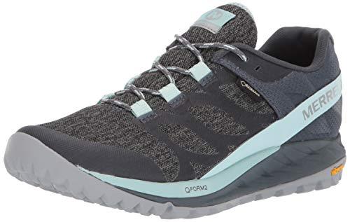 Merrell ANTORA GTX, Zapatillas de Running para Asfalto Mujer, Multicolor (Turbulence), 39...