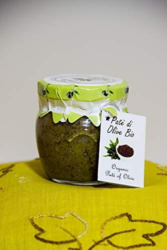 Patè di Olive Bio 90g - 100% Italiano - Prodotto in Sicilia