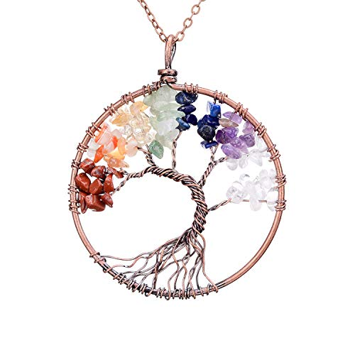 sedmart Four Seasons Tree of Life Pendant Wire Wrapped Wisdom Ancient Copper...