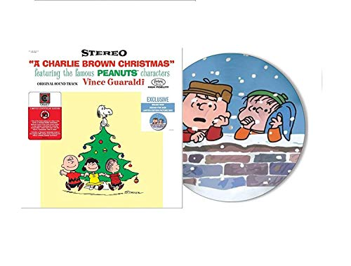 A Charlie Brown Christmas - Exclusive Limited Edition Picture Disc Vinyl LP With Lenticular Sleeve!