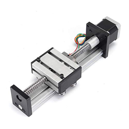 RanDal 100Mm Long Stage Actuator Linear Stage 1204 Ball Screw Linear Slide Stroke With 42Mm Stepper Motor